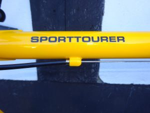PatriaSportTourerOberrohr
